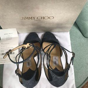 Jimmy Choo Shoes - New Jimmy Choo Midnight Sandals